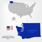 Kalifornien — Stockvektor