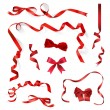 Royalty-Free Stock Vektorov obrzek: Red ribbons and Bows