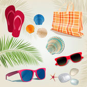 Summer kit — Stock Vector