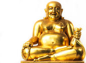 Smiling Buddha, Chinese God of Happiness, Wealth and Lucky — Stock Photo