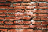 Weathered Brick Wall with Sunlight — Stock Photo