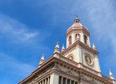 Santa cruz Katolik Kilisesi, perspektif görünüm — Stok fotoğraf