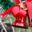 Red Christmas Bell — Stock Photo #37643305