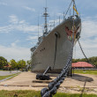 Stock Photo: Battleship memorial
