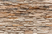 Brown Old Bricks Wall, Close up — 图库照片