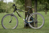 Completed bicycle — Stock Photo