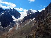 Glaciers Aktru — 图库照片