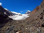 Gletsjers aktru — Stockfoto