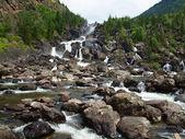 Uchar falls — Stock Photo