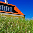 Stock Photo: Typical Danish house in Jutland, Denmark