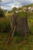 Wc rustic toilet — Stock Photo