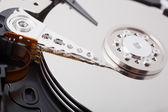 Hard disk (broken) — Stock Photo