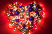 Christmas heart — Stock Photo