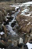 River in Andorra la Vella — Stock Photo
