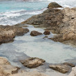 フォル メンテラ島のビーチ — ストック写真