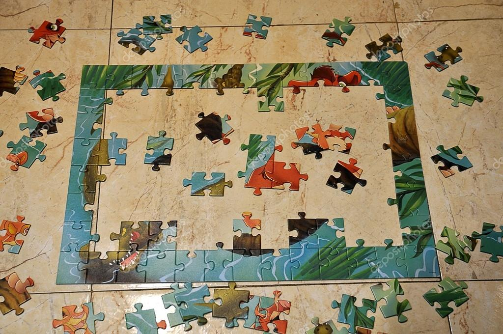 Puzzle waste  Foto Stock #13437235