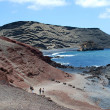 Lanzarote beach - Stock Photo