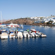 Stock Photo: Lanzarote harbor