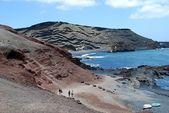 Lanzarote beach — Stock Photo