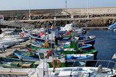 Lanzarote port — Stock Photo