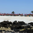 Fuerteventura beach — Stock Photo
