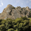 ストック写真: Mountains of Montserrat