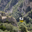 Stock Photo: Montserrat cable car