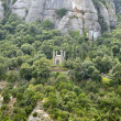 Montserrat mountains - Stock Photo