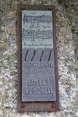 Singing catalonia monument — Stock Photo