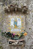 モントセラト島の記念碑 — ストック写真