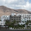Lanzarote houses - Stock Photo
