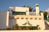 Lanzarote evleri — Stok fotoğraf