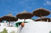 Lanzarote domy — Stock fotografie