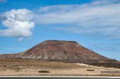 Fuerteventura volcano — Stock Photo