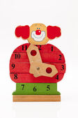 Clown clock — Stock Photo