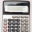 Stock Photo: Calculator for accounts