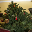 Christmas tree with gifts — Stock Photo #18300247