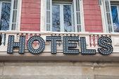 Barcelona hotel — Стоковое фото