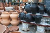 Ceramic Pied — Stock Photo