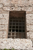 Window similar to jail — Stock Photo