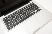 Laptop to work — Stock Photo