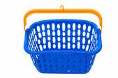 Blue basket — Stock Photo