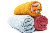 Designer towels — Stock Photo