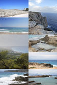 Thumbnails of Formentera Balearic Islands — Stock Photo