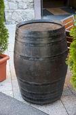 Wood barrel — Stock Photo