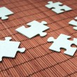 Stockfoto: Puzzle pieces