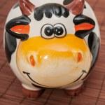 Cow piggy bank — Stock Photo #33175955