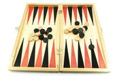 Backgammon game — Stock Photo