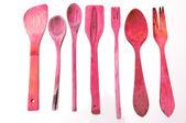 деревянная посуда — Стоковое фото