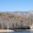Stock Photo: Montseny in Autumn lake